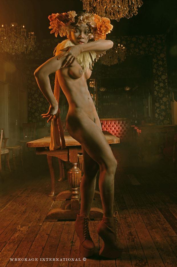 Faith Artistic Nude Photo print by Artist wreckage