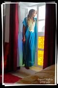 Feeling Blue Fashion Photo print by Artist 3ddream