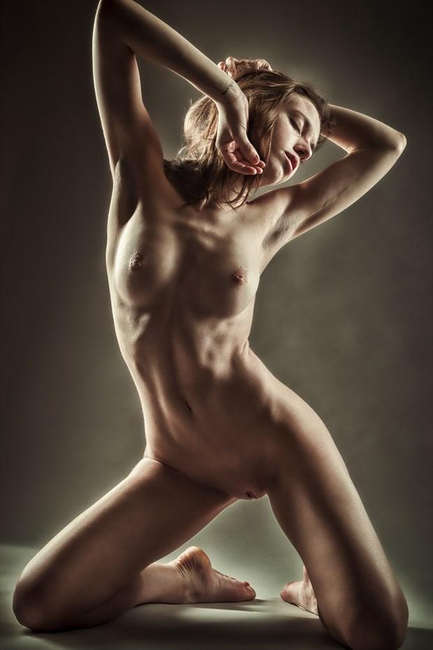 Feeling the Light Artistic Nude Photo print by Photographer rick jolson