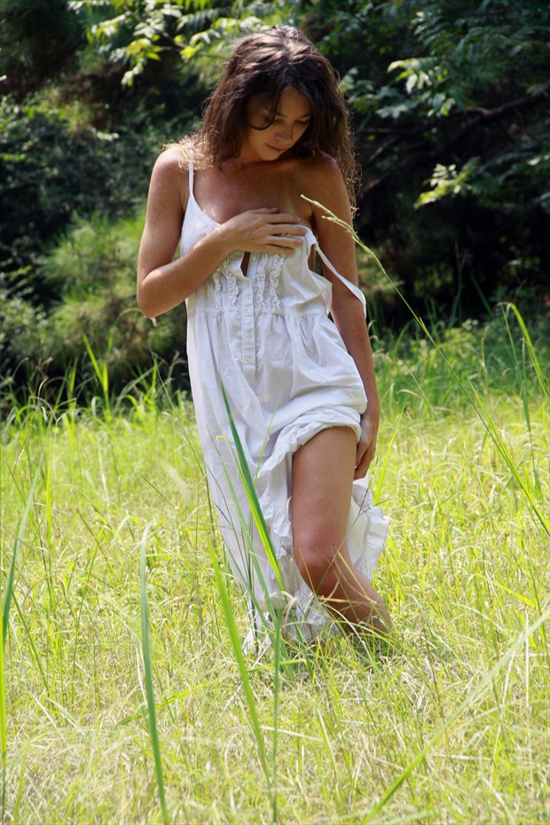 Fields of Grass Lingerie Photo print by Photographer Leland Ray