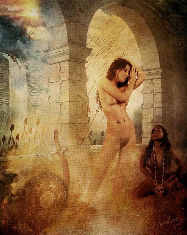 Final Hours Artistic Nude Artwork print by Photographer Mark Davy Jones