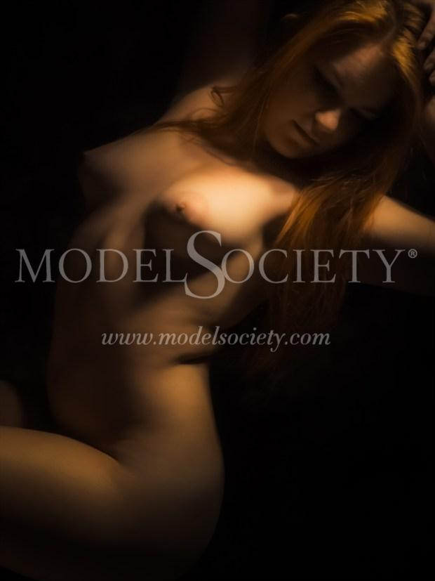 Fire Inside Artistic Nude Photo print by Photographer PhotoGuyMike
