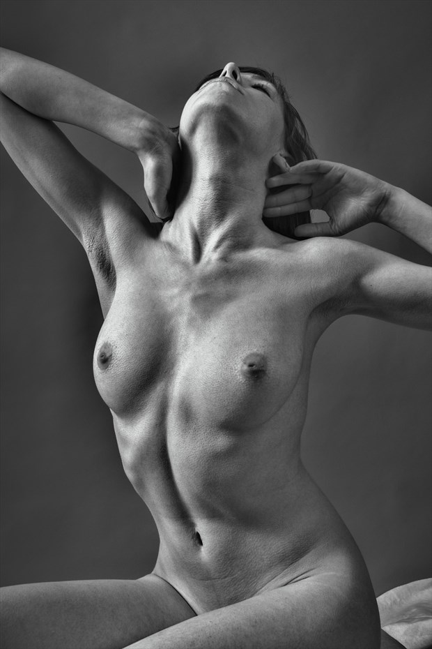First Session Artistic Nude Photo print by Photographer rick jolson
