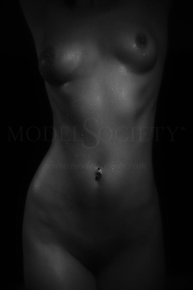 Fit Nude Woman Artistic Nude Photo print by Photographer CSDewitt Buck