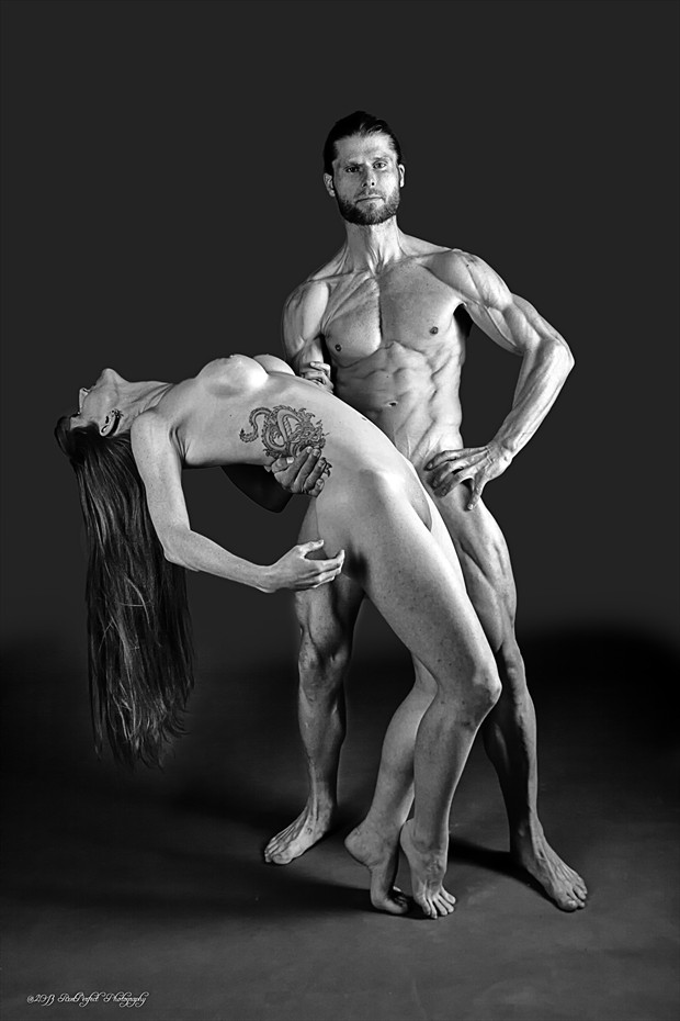 Fitness Models %232 Artistic Nude Artwork print by Photographer Thom Peters Photog