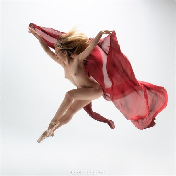 Flight Artistic Nude Photo print by Photographer Randall Hobbet