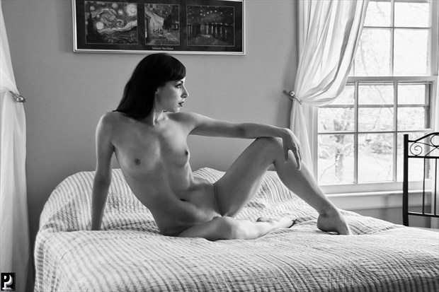 Floofie Artistic Nude Artwork print by Photographer Thom Peters Photog