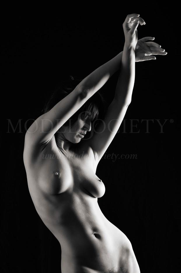 Flow towards the light Artistic Nude Photo print by Photographer Bill Irwin