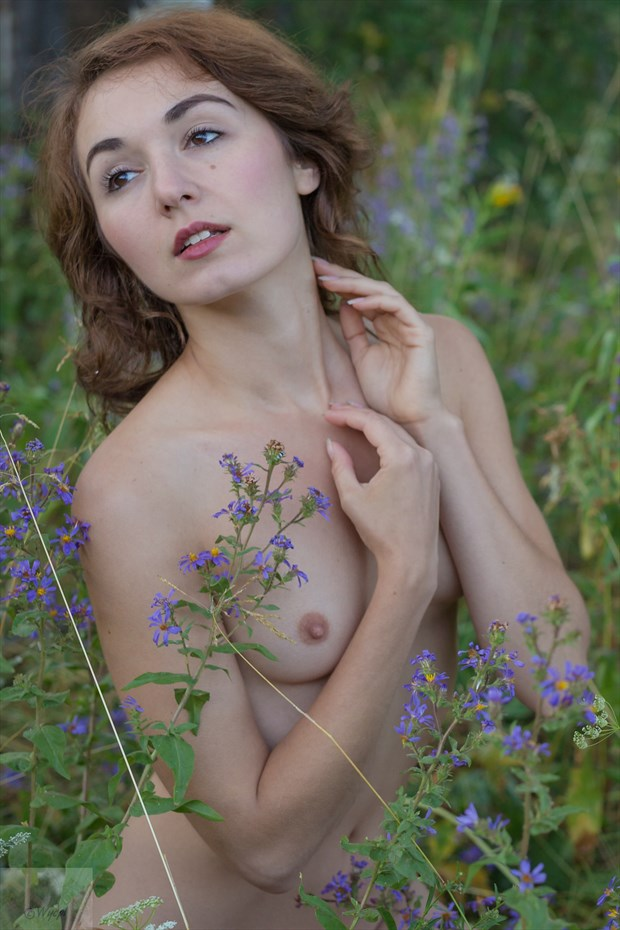Forest Nymph Artistic Nude Photo print by Photographer JCP Photography