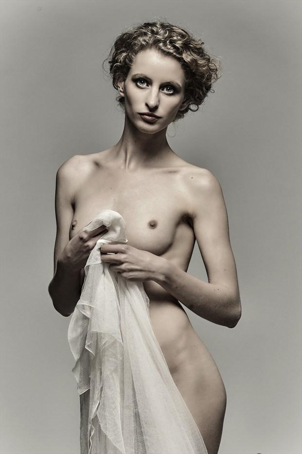 Fredau Artistic Nude Photo print by Photographer John Logan