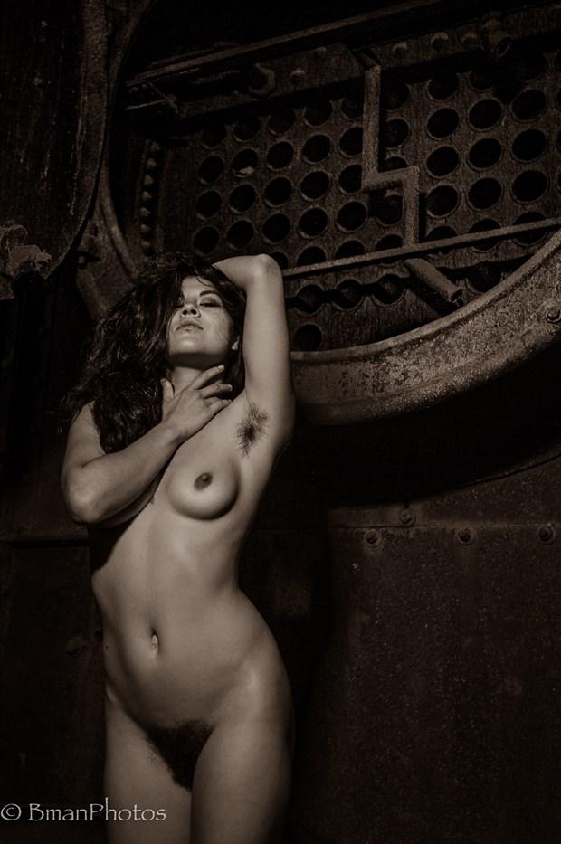 Freya Gallows Artistic Nude Photo print by Photographer BmanPhotos