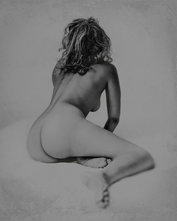 Gabrielle Artistic Nude Photo print by Photographer George Ekers