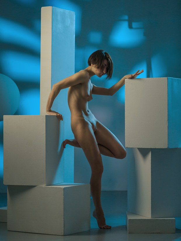Geometry Artistic Nude Photo print by Photographer dml