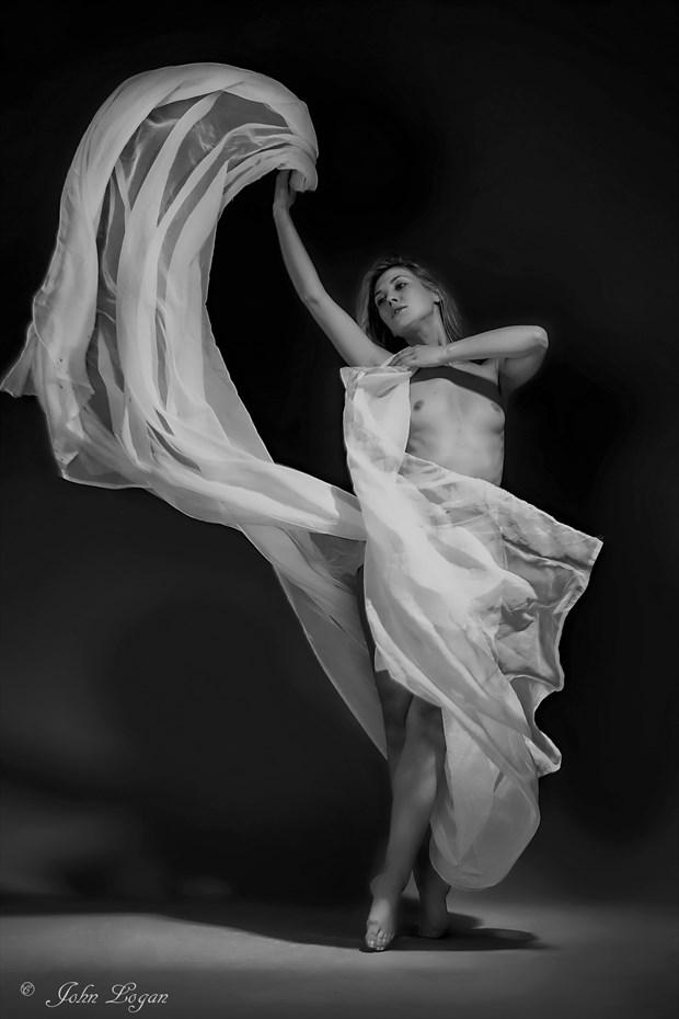 Gossamer Artistic Nude Photo print by Photographer John Logan