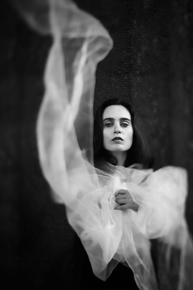 Gothic Portrait Photo print by Photographer Invisiblemartyr