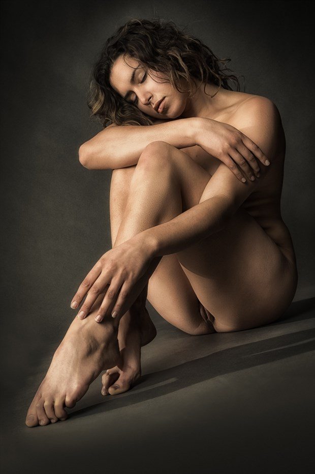 Green with Envy Artistic Nude Photo print by Photographer rick jolson