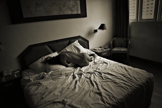Guest Room Artistic Nude Photo print by Photographer David Winge