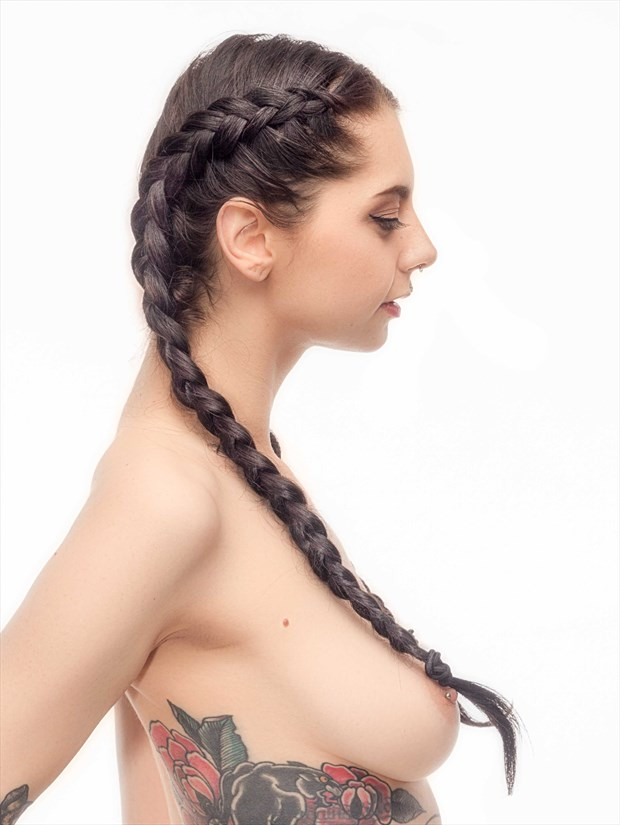 Hair Artistic Nude Photo print by Photographer PhotoRP