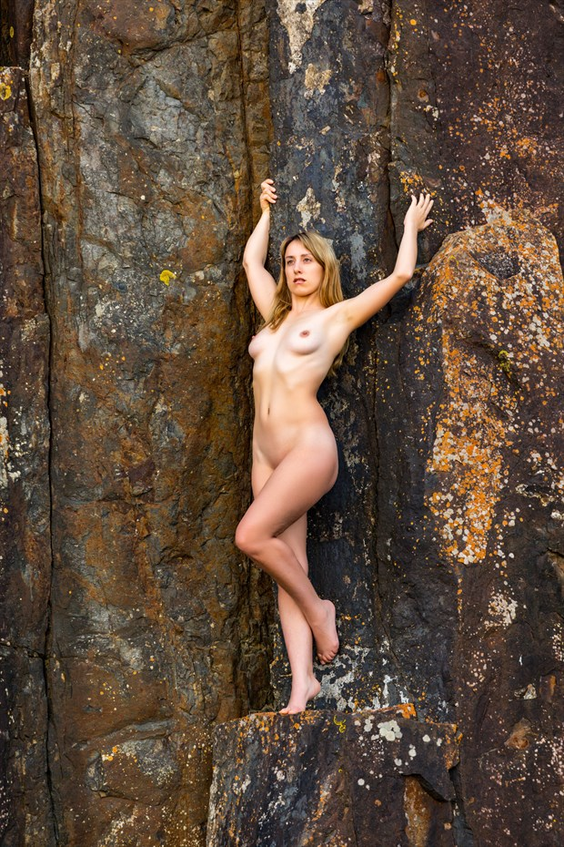 Hanging On Artistic Nude Photo print by Photographer Stephen Wong