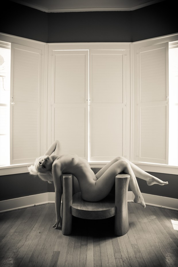 Heart of the wood Artistic Nude Photo print by Photographer Frisson Art