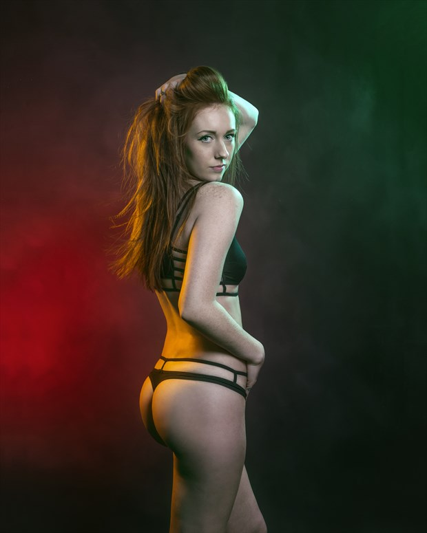 Hello There Lingerie Photo print by Photographer CarlEricPorter