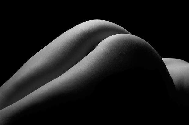 Hills Artistic Nude Photo print by Model Aurora Red