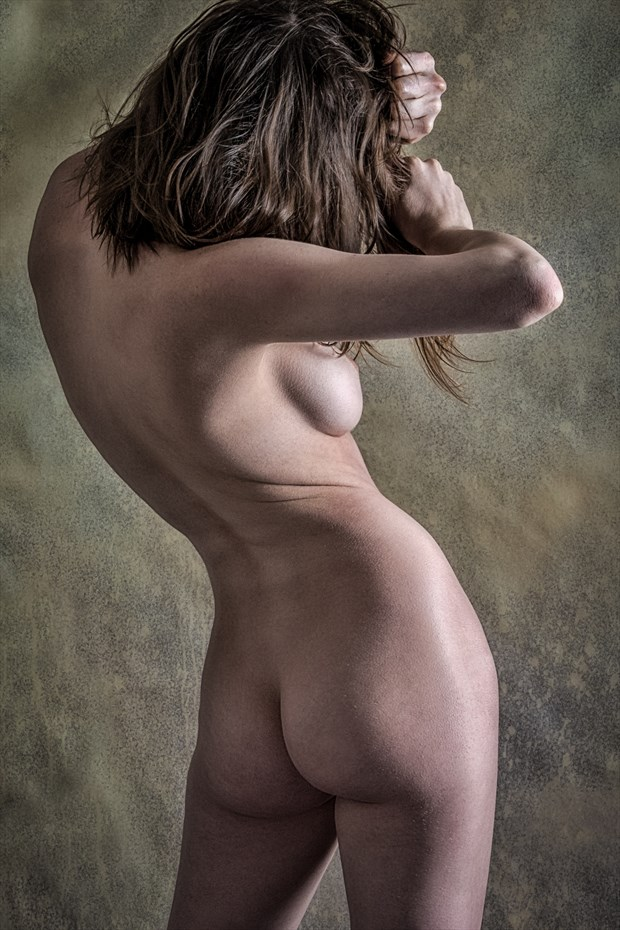 Hipster Artistic Nude Photo print by Photographer rick jolson