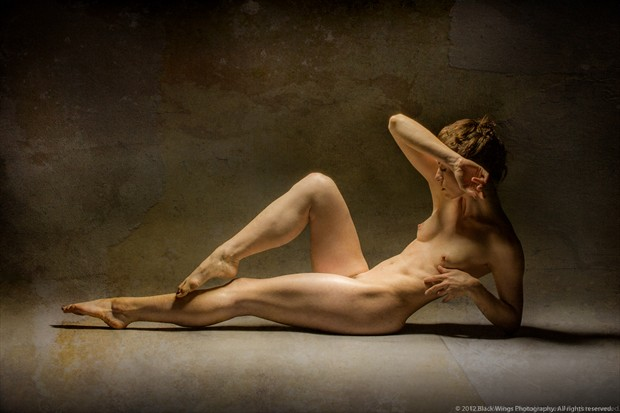 I'll find my way. Artistic Nude Photo print by Photographer Black Wings