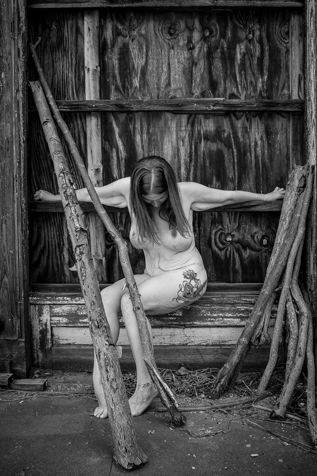 I will persist Artistic Nude Photo print by Photographer Frisson Art