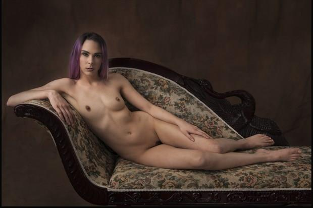 If one was to lounge                                                                              Artistic Nude Photo print by Photographer Tommy 2's
