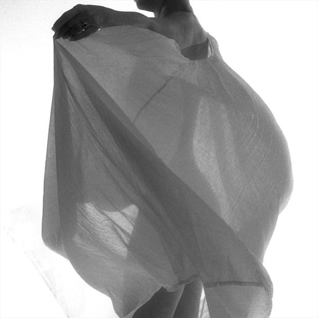 Implied Nude Fashion Photo print by Photographer ewe
