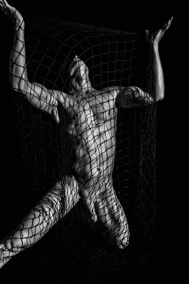 Imposed Inhibitions Artistic Nude Photo print by Model Avid Light