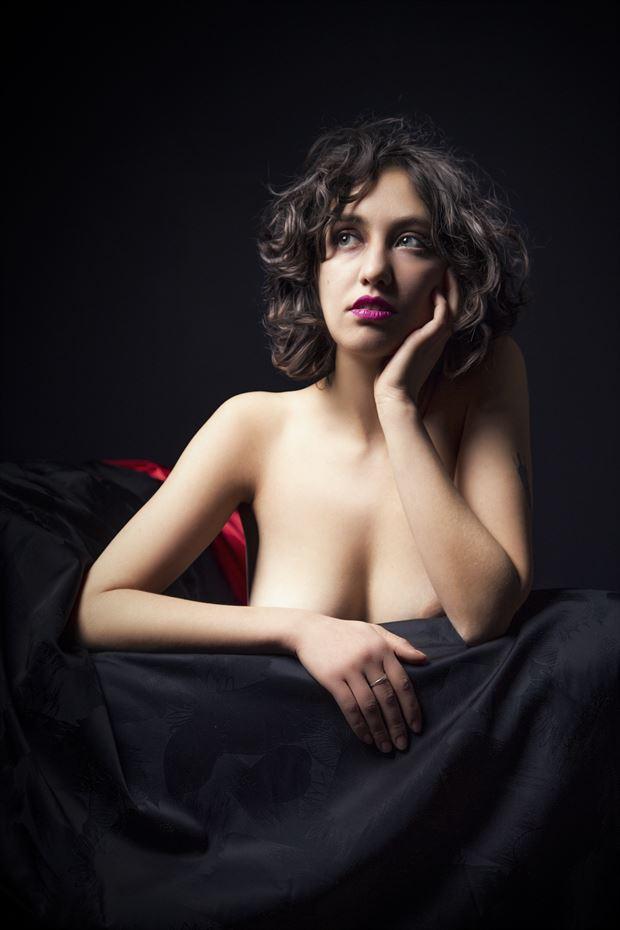 Jade Artistic Nude Photo print by Photographer George Ekers
