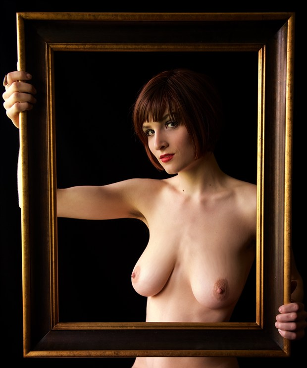 Jade Coley %234 Artistic Nude Photo print by Photographer Z Inner Eye