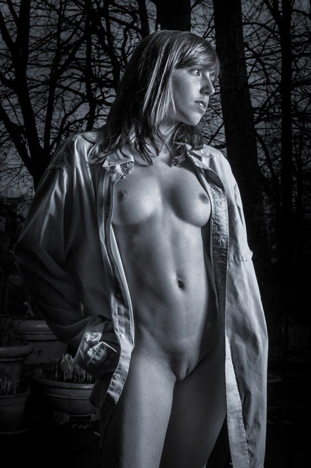 Just Starting to Rain Artistic Nude Photo print by Photographer rick jolson