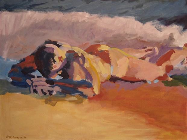 Kalippygos on la  Isle Bonita Artistic Nude Artwork print by Artist paulryb