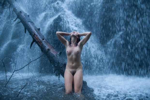 Katja at Crabtree %231 Artistic Nude Photo print by Photographer mikaelr