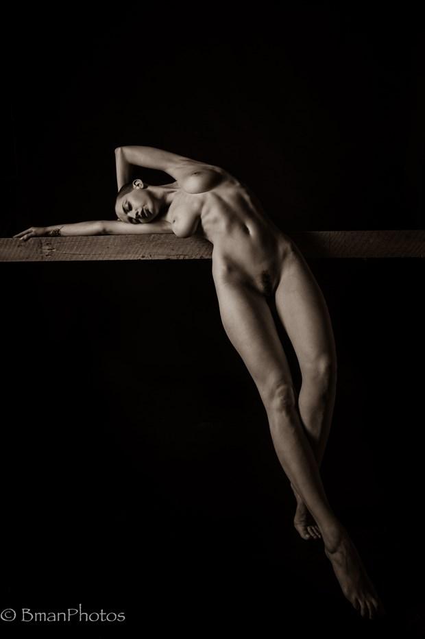 Katlin Tucker Artistic Nude Photo print by Photographer BmanPhotos