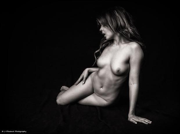 Pure Rebel Artistic Nude Photo print by Photographer J Photoart