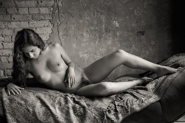La Belle Noiseuse Artistic Nude Photo print by Photographer Risen Phoenix