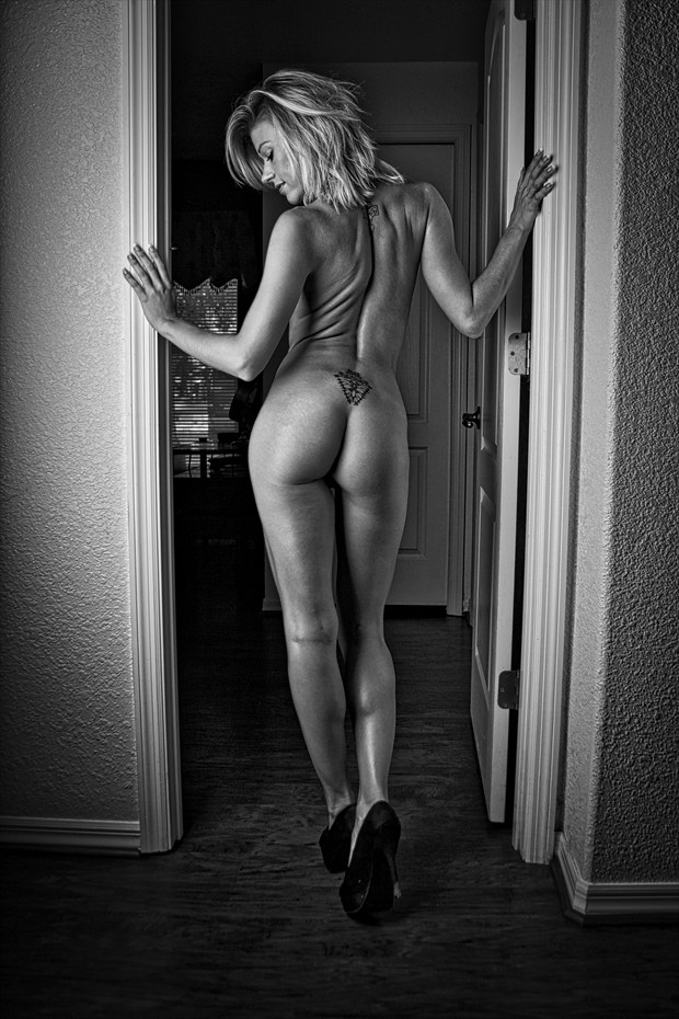 Lacey in Heels Artistic Nude Photo print by Photographer Chris Gursky