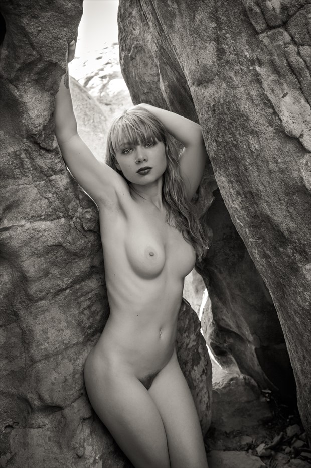 Lagatha Nude in the Mountains Artistic Nude Photo print by Photographer Risen Phoenix