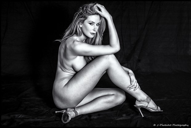 Leanne Artistic Nude Photo print by Photographer J Photoart