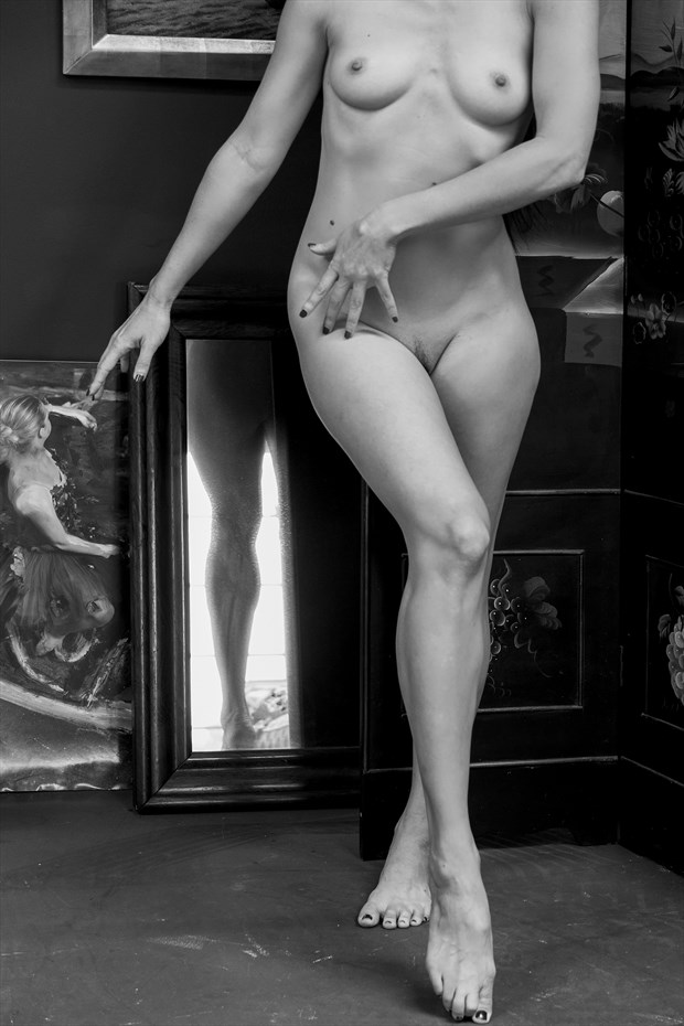 Legz Artistic Nude Photo print by Model Catalina Cruise
