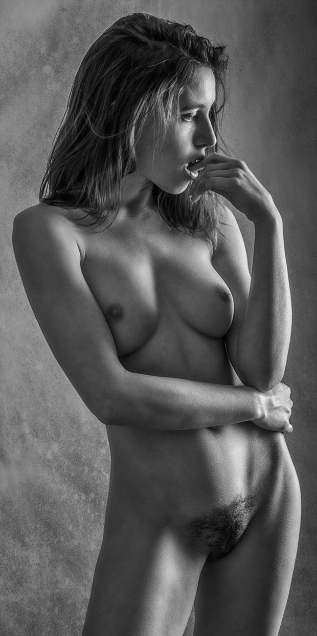 Let Me Think... Where Did I Leave My Robe%3F Artistic Nude Photo print by Photographer rick jolson