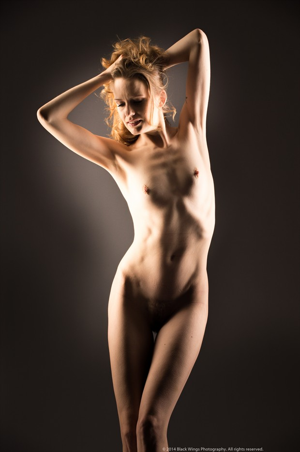 Light Play   one Artistic Nude Photo print by Photographer Black Wings