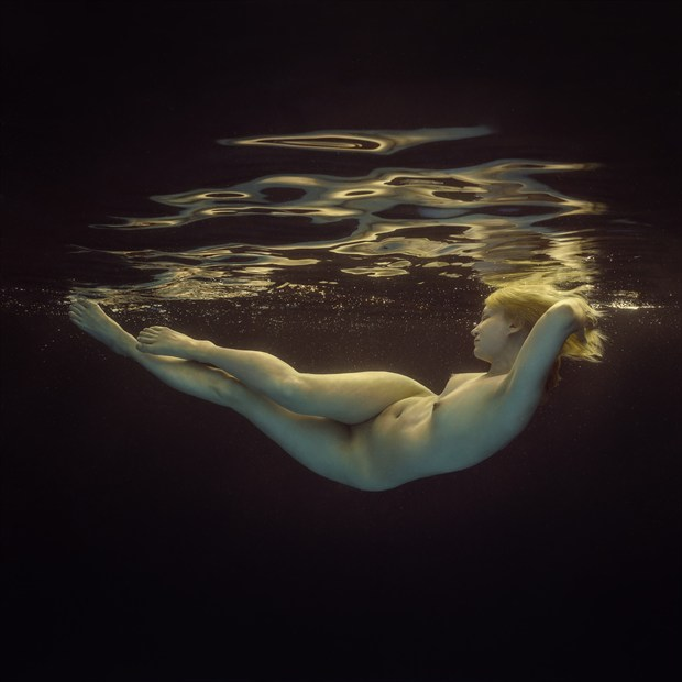 Light water Artistic Nude Photo print by Photographer dml