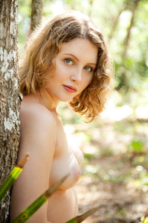 Lila   Simple Beauty Artistic Nude Photo print by Photographer Risen Phoenix