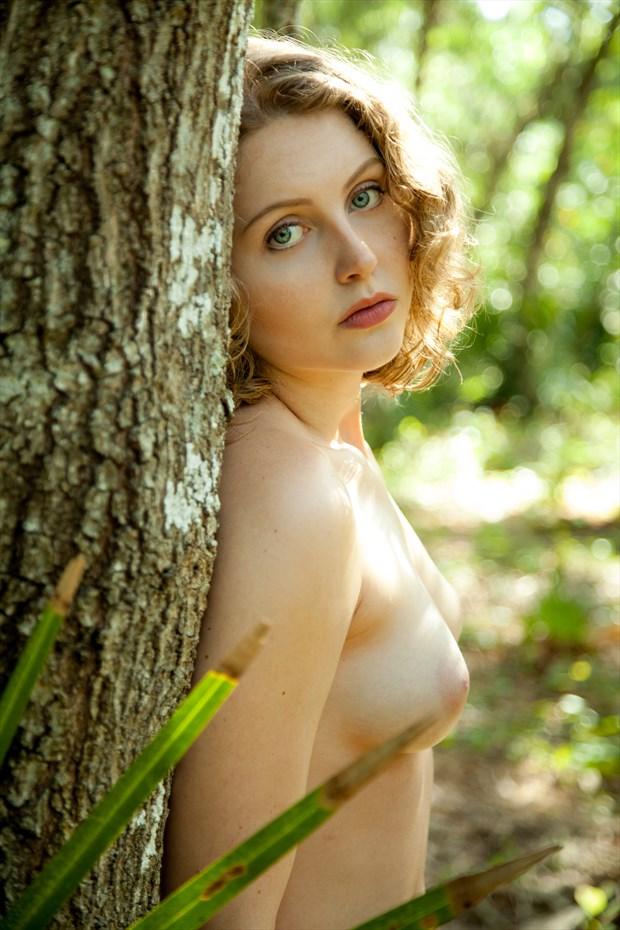 Lila Blue  Artistic Nude Photo print by Photographer Risen Phoenix