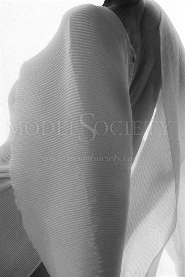 Lingerie Implied Nude Photo print by Photographer ewe